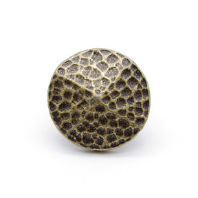 """Round 1-1/4"""" Hammered Clavo Decorative Nail, 4-Pack, Brass Oxide"""