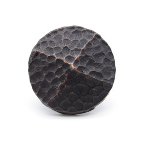 """Round 1-1/4"""" Hammered Clavo Decorative Nail, 8-Pack, Oil Rubbed Bronze"""