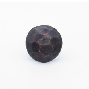 """Round 1-1/8"""" Clavo Decorative Nail, 8-Pack, Oil Rubbed Bronze"""