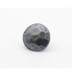 """Round 1-1/8"""" Clavo Decorative Nail, 8-Pack, Pewter Oxide"""