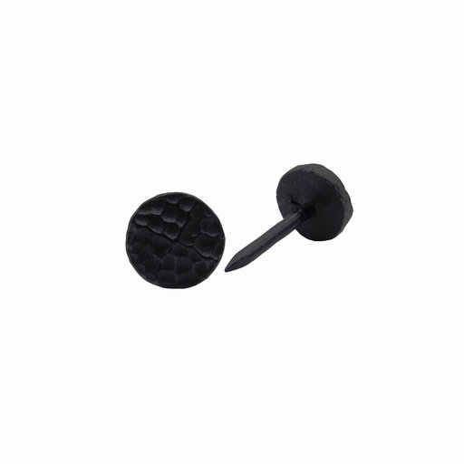 """View a Larger Image of Round 1/2"""" Hammered Clavo Decorative Nail, 4-Pack, Black Oxide"""