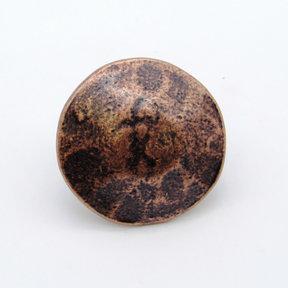 "Round 1-3/8"" Clavo Decorative Nail, 4-Pack,  Copper Oxide"