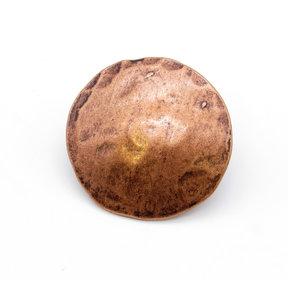 "Round 2"" Clavo Decorative Nail, 4-Pack, Copper Oxide"