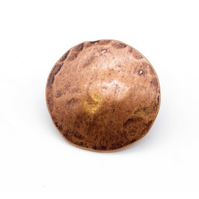 "Round 2"" Clavo Decorative Nail, 8-Pack, Copper Oxide"
