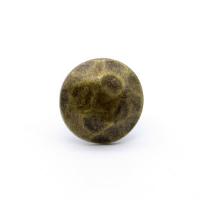 """Round 3/4"""" Clavo Decorative Nail, 8-Pack, Brass Oxide"""