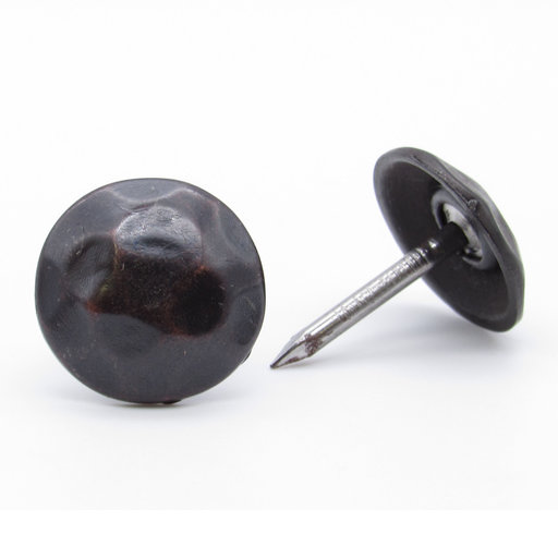 """View a Larger Image of Round 3/4"""" Clavo Decorative Nail, 8-Pack, Oil Rubbed Bronze"""