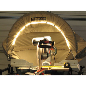 Lighted 5000-L Dust Solution for Miter Saws