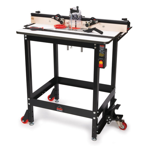 View a Larger Image of Rout-R-Lift II Router Table Package