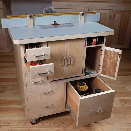 View a Larger Image of Router Table - Downloadable Plan