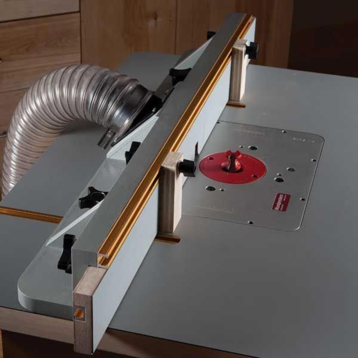 View a Larger Image of Router Table Fence - Downloadable Plan