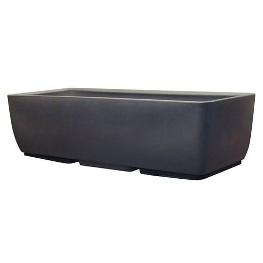 """View a Larger Image of Urban Planter, 36"""" x 15"""", Graphite"""