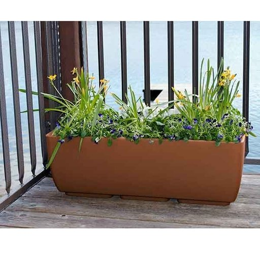 """View a Larger Image of Urban Planter, 36"""" x 15"""", Terra Cotta"""