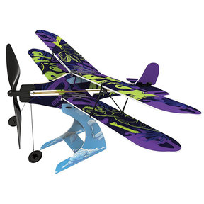 Rubberband Aeroplane Science - Biplane
