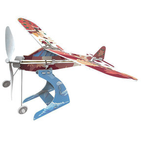 Rubberband Aeroplane Science - High Wing