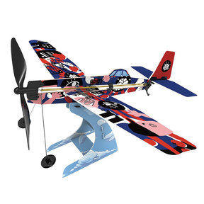 Rubberband Aeroplane Science - Low Wing