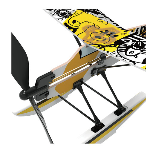 View a Larger Image of Rubberband Aeroplane Science - Seaplane