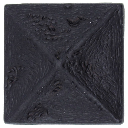 View a Larger Image of Rustic Pyramid Knob Oil Rubbed Bronze