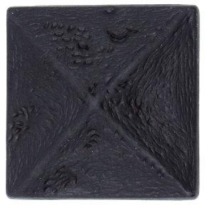 Rustic Pyramid Knob Oil Rubbed Bronze
