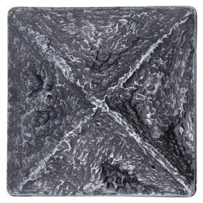 Rustic Pyramid Knob Pewter