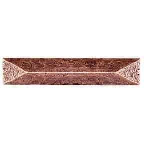 """Rustic Pyramid Pull 3-3/4"""" Center Copper Oxide"""