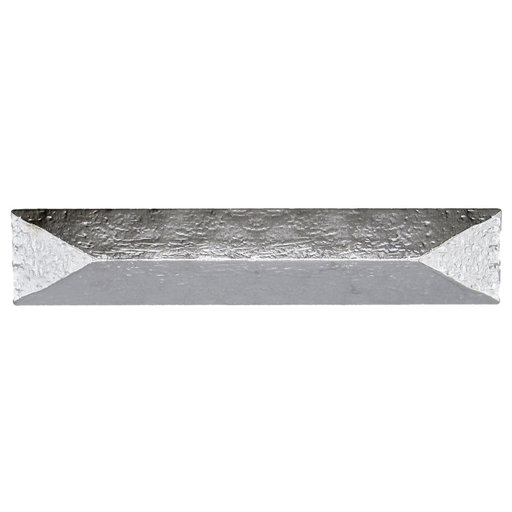"""View a Larger Image of Rustic Pyramid Pull 3-3/4"""" Center Nickel"""