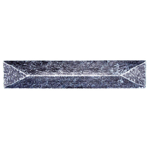 """View a Larger Image of Rustic Pyramid Pull 3-3/4"""" Center Pewter Oxide"""