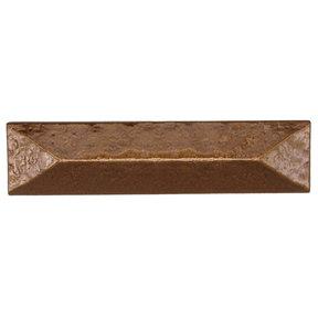"Rustic Pyramid Pull 3"" Center Lux Bronze"