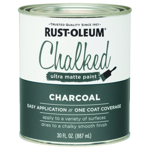 View a Larger Image of Rustoleum Chalked Paint Charcoal