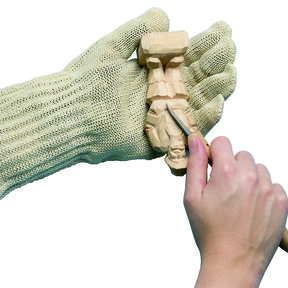Safety Glove, Extra Small, Size 4-5