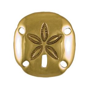Sand Dollar Doorbell Ringer - Brass