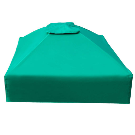 """View a Larger Image of 48"""" X 48""""x 37"""" Telescoping Square Sandbox Canopy & Cover"""
