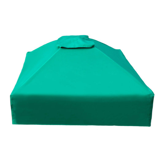 """View a Larger Image of 4' x 4' x 13.5"""" Square Collapsible Sandbox Cover"""
