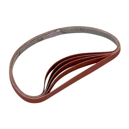 View a Larger Image of Sanding Stick Replacement Belts 240 Grit 5 pk