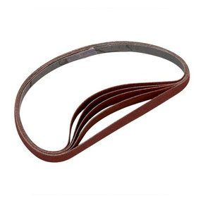 Sanding Stick Replacement Belts - 80 Grit - 5 Pack