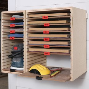 Sanding Storage Center Downloadable Plan
