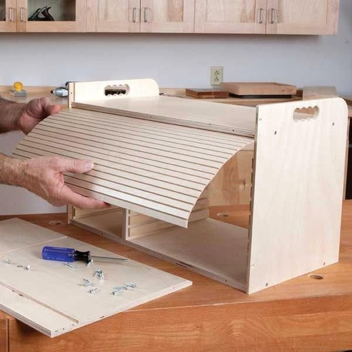 View a Larger Image of Sandpaper Storage - Downloadable Plan