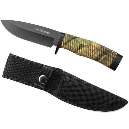 View a Larger Image of Nitefall - Camo Fixed Blade