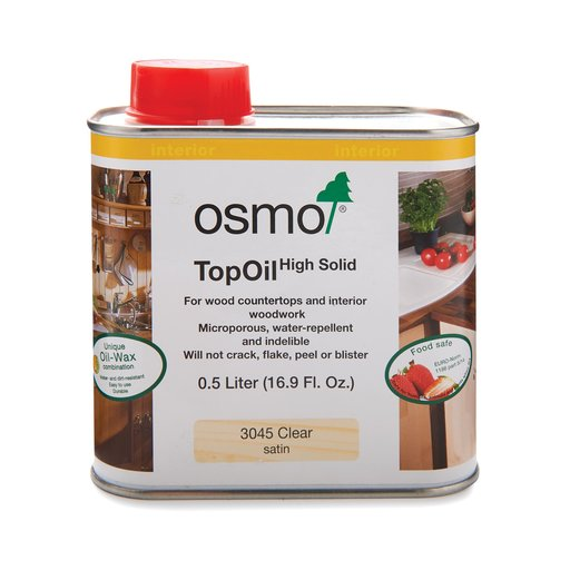 View a Larger Image of Satin Clear TopOil 3045 Solvent Based .5 l