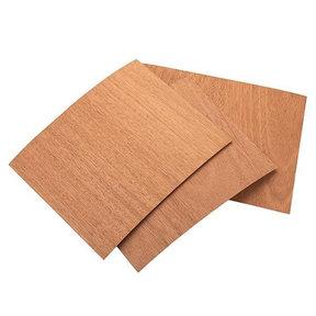 "Mahogany Wood Veneer Pack - 8-1/2"" x 11"" - 2-Ply - 3 Piece"