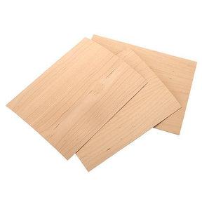 """Maple Wood Veneer Pack - 8-1/2"""" x 11"""" - 2-Ply - 3 Piece"""