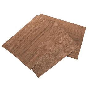 """Walnut Wood Veneer Pack - 8-1/2"""" x 11"""" - 2-Ply - 3 Piece"""