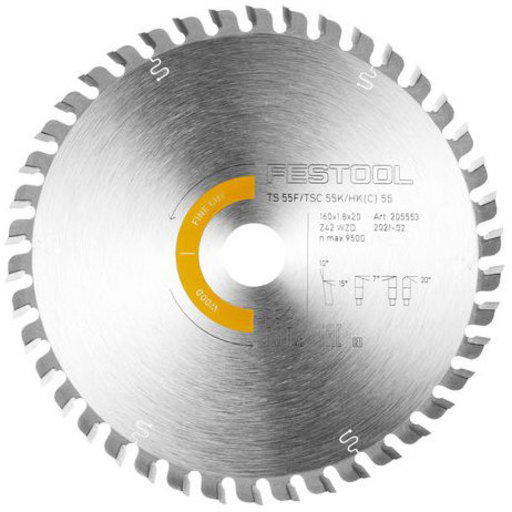 View a Larger Image of Saw blade HW 160x1,8x20 WD42 US