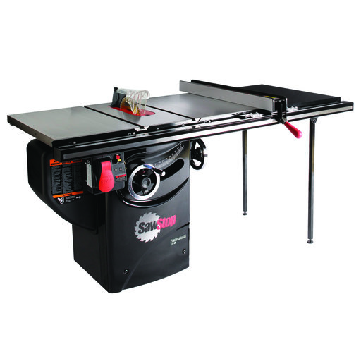 """View a Larger Image of 1-3/4HP 1PH 110V Professional Cabinet Saw with 36"""" Professional T-Glide Fence System"""