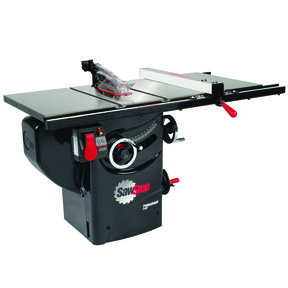 """3HP 1PH 230V Professional Cabinet Saw with 30"""" Premium Fence System"""