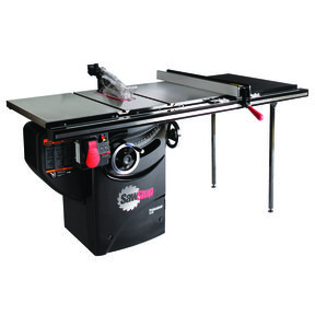 """3HP 1PH 230V Professional Cabinet Saw with 36"""" Professional T-Glide Fence System"""