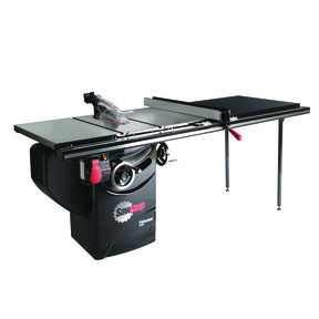 """3HP 1PH 230V Professional Cabinet Saw with 52"""" Professional T-Glide Fence System"""
