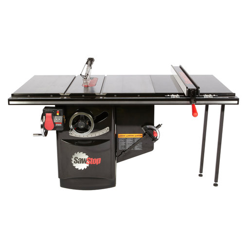 """View a Larger Image of 5HP 3PH 230V Industrial Cabinet Saw with 36"""" Industrial T-Glide Fence System"""