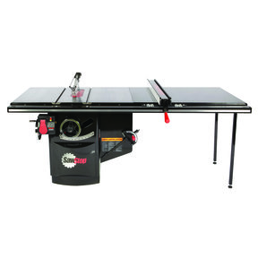 """5HP 3PH 230V Industrial Cabinet Saw with 52"""" Industrial T-Glide Fence System"""