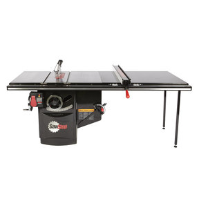 """5HP 3PH 480V Industrial Cabinet Saw with 52"""" Industrial T-Glide Fence System"""