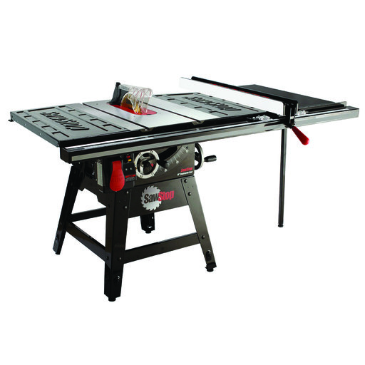 """View a Larger Image of 1-3/4HP 1PH 110-120V Contractor Saw with 36"""" Pro T-Glide Fence System"""